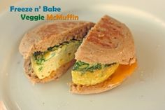 On-The-Go Veggie McMuffin | Healthy Ideas for Kids