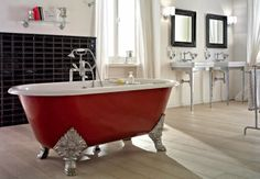 A fab guest post from @My Bathrooms about Contemporary vs Traditional Bathroom Decor