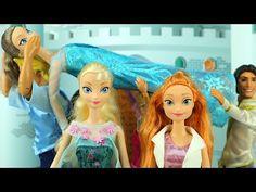 Anna Saves Elsa & Kisses Evil Cousin Asle Goodbye From Arendelle With Kristoff. DisneyToysFan