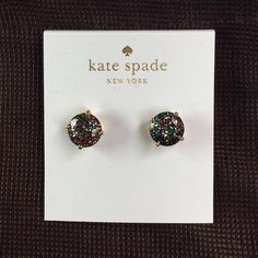 Kate Spade Earrings New Kate Spade Earrings   Color: Multiglitter New with tags Includes dust bag  PRICE IS FIRM  No free shipping  No trades kate spade Jewelry Earrings