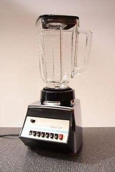 Vintage Retro 60's Chrome Oster Osterizer Galaxie VIII 8-Speed Kitchen Blender