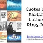 This collection of 8 quotes can be used to create an attractive and thought provoking display in your classroom or school. They also make great writing prompts. FREE