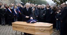 Frédéric Boisseau, « première victime des attentats » de «Charlie Hebdo», a été inhumé