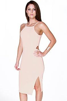 Get your groove on with our fun crop of party dresses. Get head to toe gorgeous with our party dresses for women. Occasion Dresses, Party Dresses, Color Beige, Party Shop, Boohoo, Cold Shoulder Dress, Dress Up, Heels, Shopping