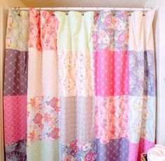 Shake up your normal quilting routine by creating some DIY home decor that's pretty and functional. This Fat Quarter Patchwork Shower Curtain is a fantastic way to show off your favorite printed precuts, and is a simple project that beginner quilters can make in a single afternoon. This bathroom quilting project is the best way to show off your love of quilting with some fun DIY home decor, and is a great way to add some country charm to your home. Made in darling spring shades like…