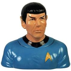 Why? Because it's illogical to deny yourself a cookie! Amazon.com: Westland Giftware Star Trek Spock Cookie Jar, 10-1/4-Inch: Home & Kitchen