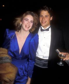 Rob Lowe and Melissa Gilbert dated on and off from 1981 to 1987.