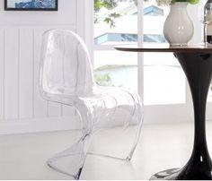 Cadeira Panton Transparente