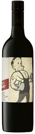 """Mollydooker The Boxer Shiraz 2010 (South Australia).  My husband: """"Best wine I've ever tasted."""" (!!)"""
