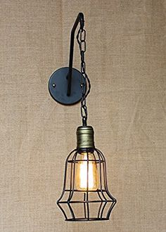 Kiven Retro Industrial Cage Wall Lamp Warehouse Lighting Vintage Black Metal Iron Pendant Wall Sconces, http://www.amazon.com/dp/B01JBVHHB8/ref=cm_sw_r_pi_awdm_x_xtk8xb34NKZVW