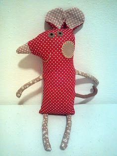 Hobbylka: Šitá zoo - myška Mousinka