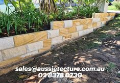 For walling & garden edging. Stone Cladding, Wall Cladding, Natural Stone Wall, Stone Blocks, Stone Supplier, Garden Edging, Stone Work, Flower Boxes, Home Builders