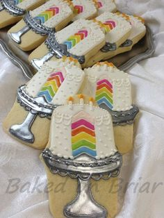 Rainbow Birthday Cakes | Flickr - Photo Sharing!