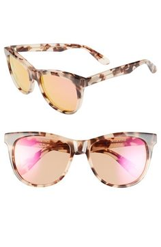 Wildfox 'Catfarer Deluxe' 55mm Sunglasses available at #Nordstrom