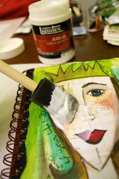 How to embellish your own journal #craft #journal