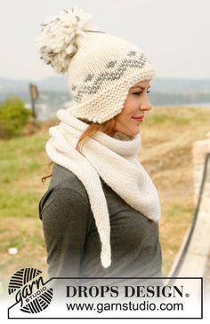 Accessories - Free knitting patterns and crochet patterns by DROPS Design Drops Design, Knitting Patterns Free, Free Knitting, Crochet Patterns, Free Pattern, Knitted Slippers, Knitted Hats, Crochet Hats, Cozy Fashion