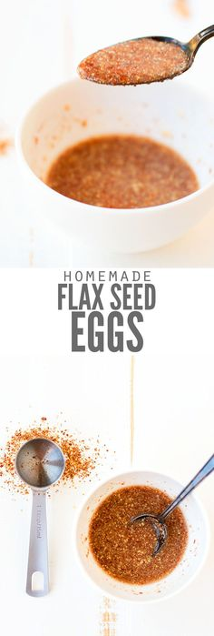 Make a flax egg subs