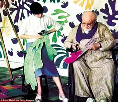 *Painting of Lydia - Matisse *Matisse and his last muse Lydia Delectorskaya