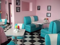 Bobby Jos Diner, Southend-on-Sea. Seriously, the fittest diner ever! :)