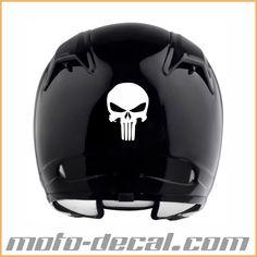 Reflective Punisher logo Motorcycle Helmet Decals, Punisher Logo, Skull Tattoos, Motorcycles, Bike, Logos, Bicycle, Logo, A Logo
