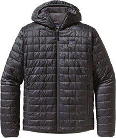 09f944440aae Patagonia Men s Nano Puff Insulated Hoodie Forge Grey XXL Hoody