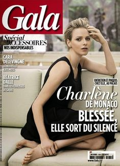 Charlene Wittstock (Princess of Monaco) for Gala Magazine, March 2014