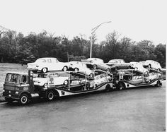 White 5000 COE - 1954-59 - Winross Diecast Model - CLICK Through to the Source Page for MANY Interesting Auto Haulers