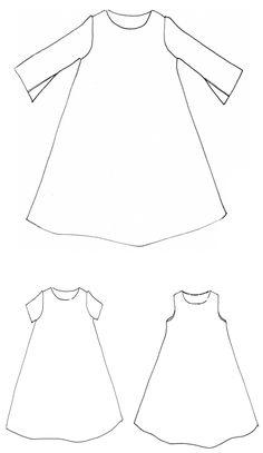 Trapeze dress