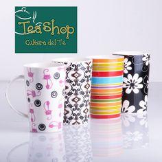 ¡Mugs Maxwell Williams! Prepara tus bebidas calientes en estos magnificos mugs de porcelana de Tea Shop. http://www.elretirobogota.com/esp/?dt_portfolio=tea-shop