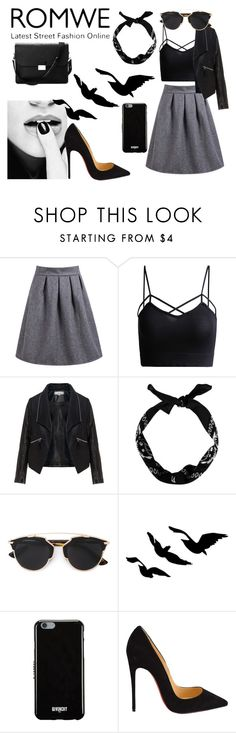 """""""All Black"""" by kenzie846 ❤ liked on Polyvore featuring Zizzi, Christian Dior, Givenchy, Christian Louboutin, Aspinal of London, women's clothing, women, female, woman and misses"""