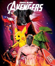 The Chilean Avengers World Of Wacraft, Don Meme, Avengers, Sweet Memes, Mo S, Pokemon, Geek Stuff, Fan Art, Stickers
