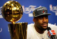 Congrats LeBron James!