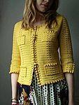 phildar design on ravelry. very chanel. - Chanel Cardigan - Ideas of Chanel Cardigan - phildar design on ravelry. very chanel. Gilet Crochet, Crochet Coat, Crochet Jacket, Crochet Cardigan, Crochet Clothes, Crochet Vests, Mode Crochet, Diy Crochet, Crochet Baby