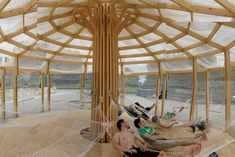 Encore Heureux's pop-up yurt style Chinoiserie – Design Competitions