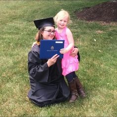 """#MondayMotivation""""My daughter was my motivation to go back to school and succeed,"""" Megan McGrail,'15 DeSales University 