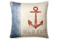 Hold Fast 20x20 Pillow, Multi on OneKingsLane.com