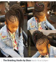 50 trendy ideas for braids for black women crochet shirts - New Site Little Girl Braids, Black Girl Braids, Braids For Kids, Braids For Black Women, Girls Braids, Children Braids, Big Braids, Black Kids Braids Hairstyles, Lil Girl Hairstyles