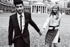 Hollywood's Youngest IT Couple Gigi Hadid & Zayn Malik Pose in Italy for Vogue