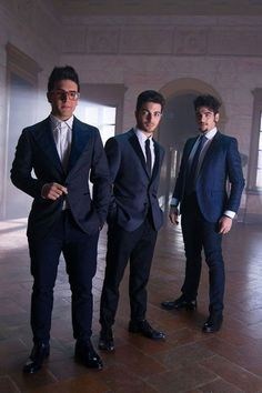 Original set with the three guys!