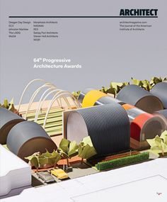 SteelMaster project on the front cover of Architect Magazine, Feb 2017 edition Quonset Hut Homes, Architect Magazine, New Books, Building A House, Architecture Design, Feb 2017, Interior, Magazines, Buildings