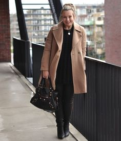 Outfit of the Day: camel coat