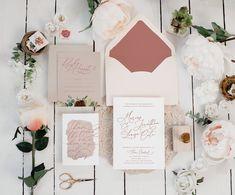 Wedding Invitations - Little Black Dress Paperie Peach Wedding Invitations, Beautiful Wedding Invitations, Wedding Invitation Templates, Printable Invitations, Invites, First Birthday Parties, First Birthdays, Typography Invitation, Wedding Calligraphy