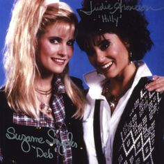 Deb and Hilly from the 80's movie Weird Science