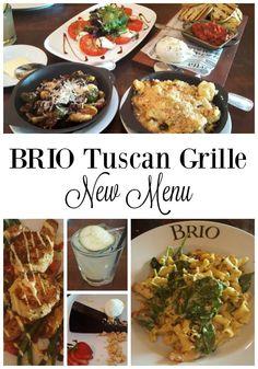 BRIO Tuscan Grille New Menu