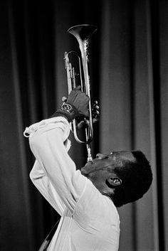 Miles Davis, Paris, 1969.