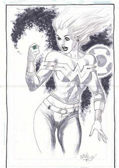 Wonder Girl by Ivan Reis