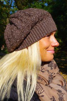 Damenmütze Beanie – Deluxe Alpaka von Mausepelzchen kreativ auf DaWanda.com