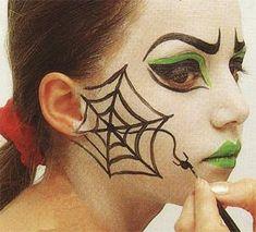 Maquillage pour Halloween : Méchante sorcière brrrrr – My CMS Face Painting Halloween Kids, Halloween Eyes, Halloween Looks, Halloween 2018, Diy Halloween Costumes, Halloween Party, Halloween Face Makeup, Halloween Balloons, Ghost Makeup