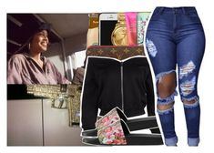 """""""I'm backkkkk!!!! Read d"""" by pinksemia ❤ liked on Polyvore featuring Gucci"""