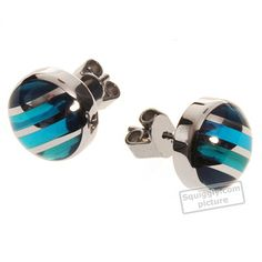 Swatch Bijoux Color-Cut-Sky-Blue-Earrings JES0001 - 2001 Collezione Autunno / Inverno